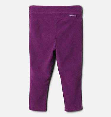 Girls' Toddler Glacial™ Fleece Leggings Glacial™ Legging | 671 | 3T, Plum, back