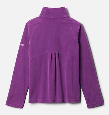 Girls' Glacial™ Fleece 1/4 Zip Pullover Glacial™ Fleece Half Zip | 673 | S, Plum, back