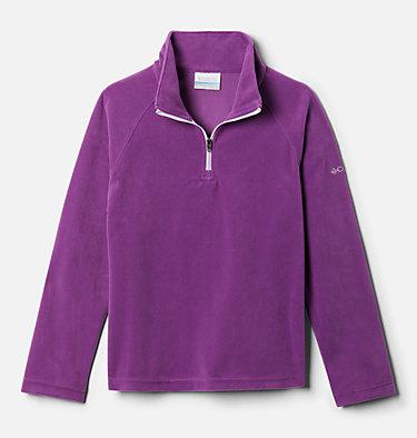 Girls' Glacial™ Fleece 1/4 Zip Pullover Glacial™ Fleece Half Zip | 673 | S, Plum, front