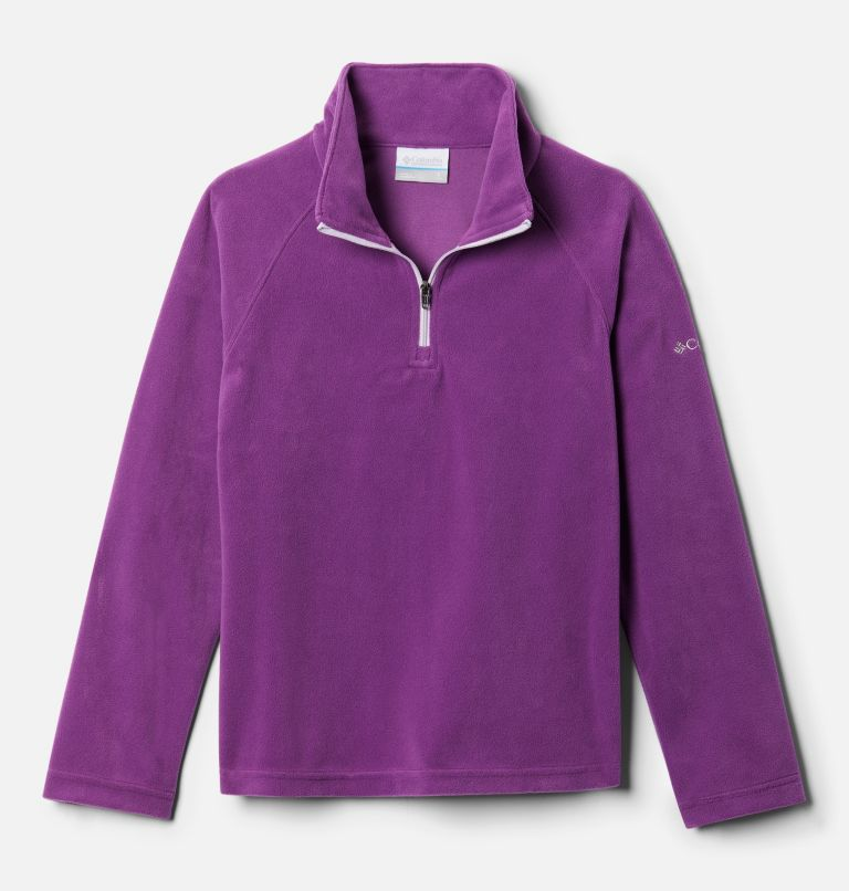 Girls' Glacial™ Fleece 1/4 Zip Pullover Girls' Glacial™ Fleece 1/4 Zip Pullover, front