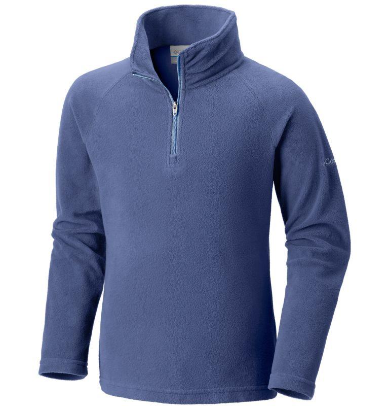Girls' Glacial™ Fleece Half Zip Pullover Girls' Glacial™ Fleece Half Zip Pullover, front
