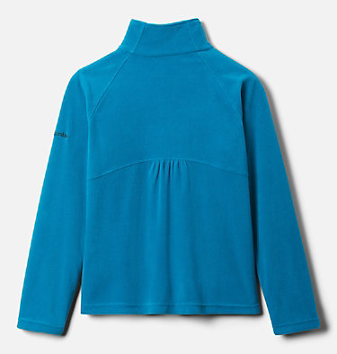 Girls' Glacial™ Fleece Half Zip Jacket Glacial™ Fleece Half Zip | 462 | XS, Fjord Blue, back