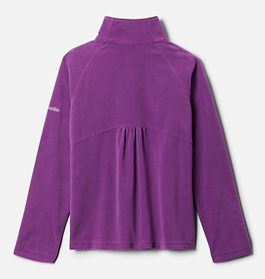 Girls' Glacial™ Fleece Half Zip Jacket Glacial™ Fleece Half Zip | 462 | XS, Plum, back