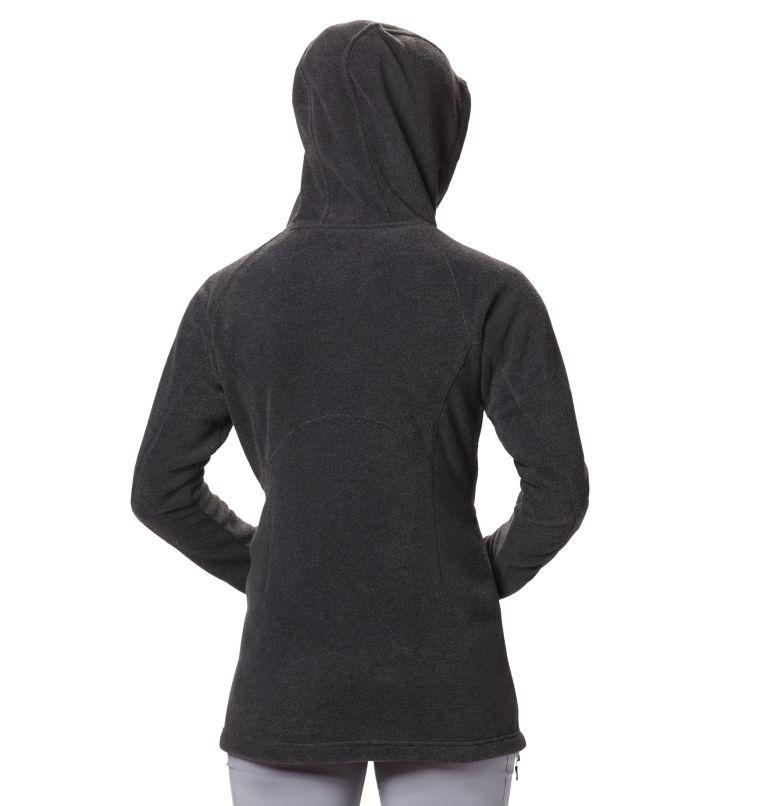 Benton Springs™ II Long Hoodie | 030 | S Women's Benton Springs™ II Long Hoodie, Charcoal Heather, back