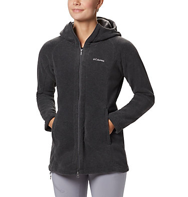 Women's Benton Springs™ II Long Hoodie Benton Springs™ II Long Hoodie | 671 | S, Charcoal Heather, front