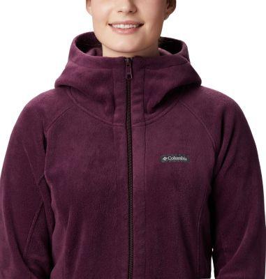 "New Womens Columbia /""Benton Springs II/"" Long Hoodie Fleece Jacket Sweaters"