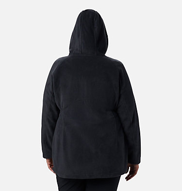 Women's Benton Springs™ II Long Hoodie - Extended Size Benton Springs™ II Long Hoodie | 472 | 1X, Black, back