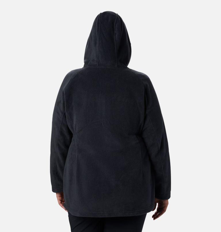 Benton Springs™ II Long Hoodie | 010 | 2X Veste à capuchon longue Benton Springs™ II pour femme - Grandes tailles, Black, back