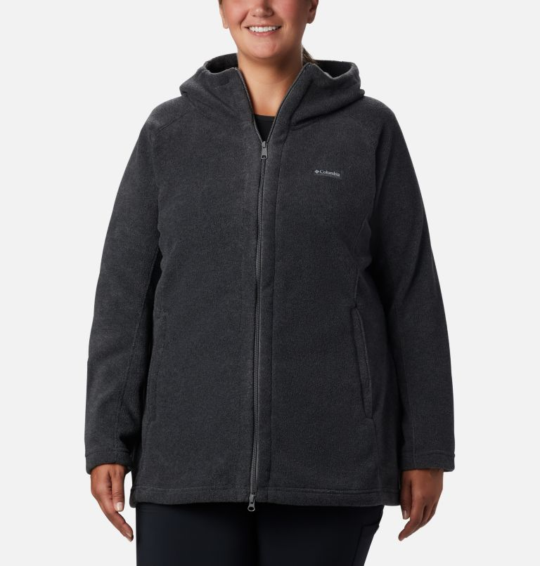 Women's Benton Springs™ II Long Hoodie - Extended Size Women's Benton Springs™ II Long Hoodie - Extended Size, front