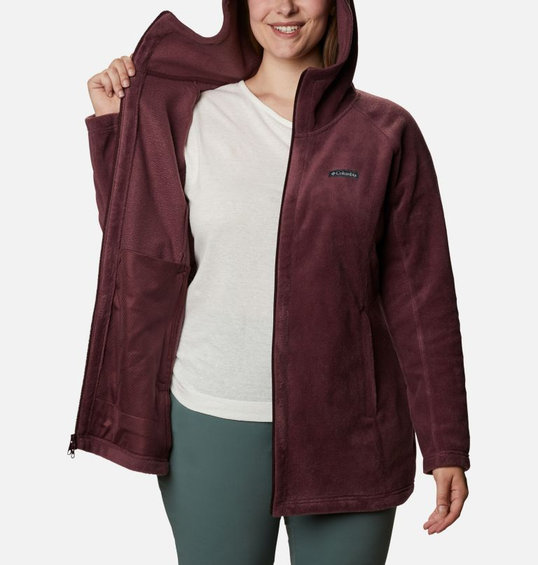Women's Benton Springs™ II Long Hoodie - Extended Size Women's Benton Springs™ II Long Hoodie - Extended Size, a3
