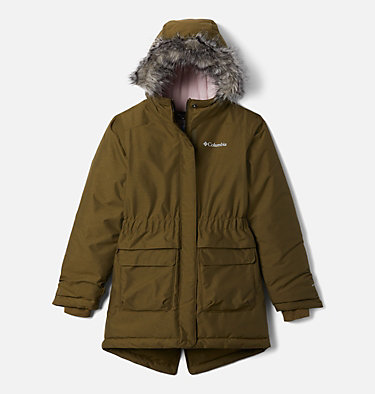 Girls' Nordic Strider™ Jacket Nordic Strider™ Jacket | 010 | XXS, New Olive Heather, front
