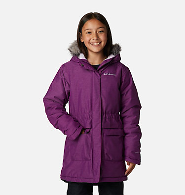 Girls' Nordic Strider™ Jacket Nordic Strider™ Jacket | 010 | XXS, Plum Heather, front