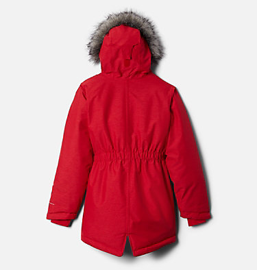 Girls' Nordic Strider™ Jacket Nordic Strider™ Jacket | 010 | XXS, Red Lily Heather, back