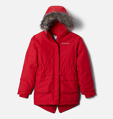 Girls' Nordic Strider™ Jacket Nordic Strider™ Jacket | 010 | XXS, Red Lily Heather, front