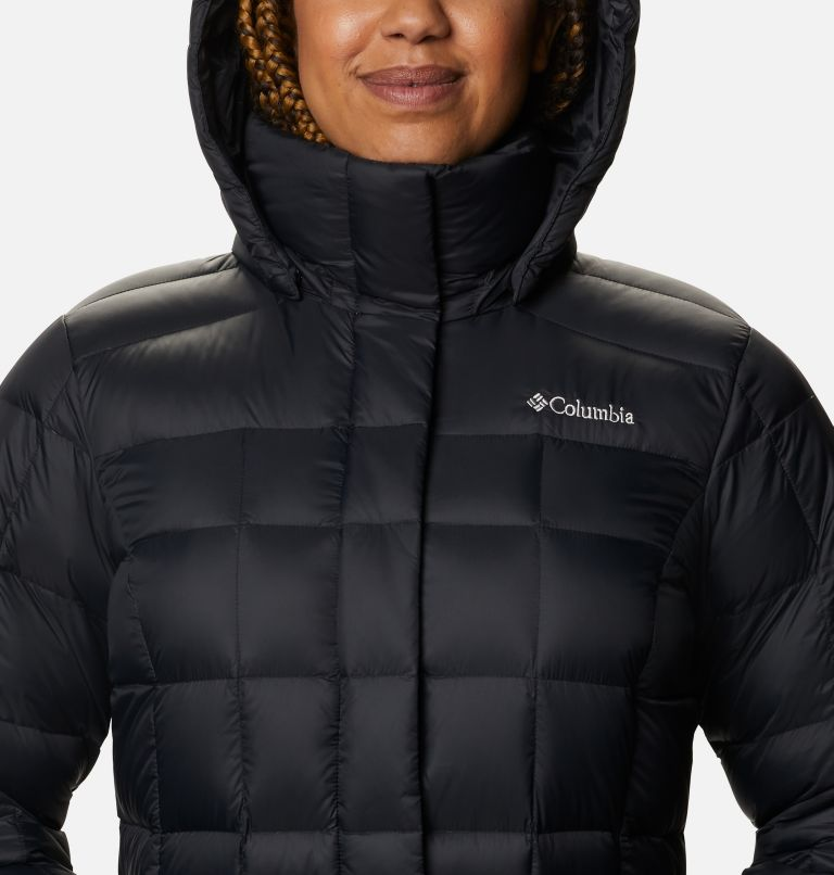 Women's Hexbreaker™ Long Down Jacket Women's Hexbreaker™ Long Down Jacket, a2