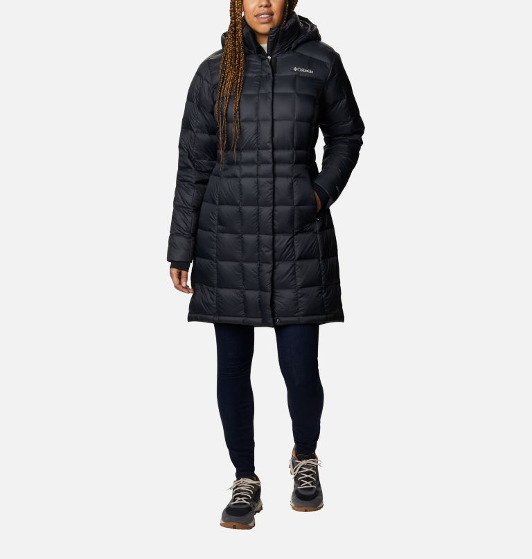 Women's Hexbreaker™ Long Down Jacket Women's Hexbreaker™ Long Down Jacket, front