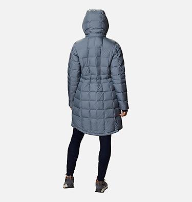 Women's Hexbreaker™ Long Down Jacket Hexbreaker™ Long Down Jacket | 021 | XL, Grey Ash Heather, back
