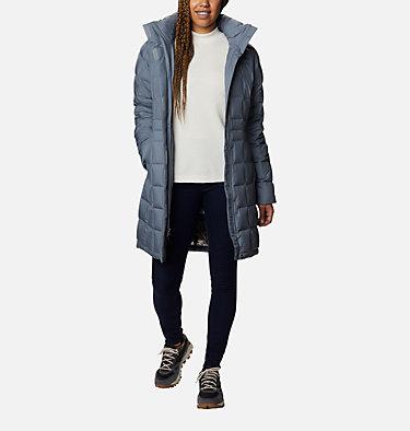 Women's Hexbreaker™ Long Down Jacket Hexbreaker™ Long Down Jacket | 021 | XL, Grey Ash Heather, front