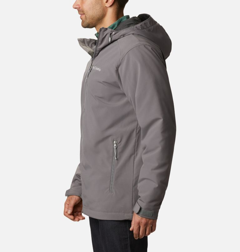 Gate Racer™ Softshell | 023 | XXL Men's Gate Racer™ Insulated Softshell Jacket, City Grey, a1