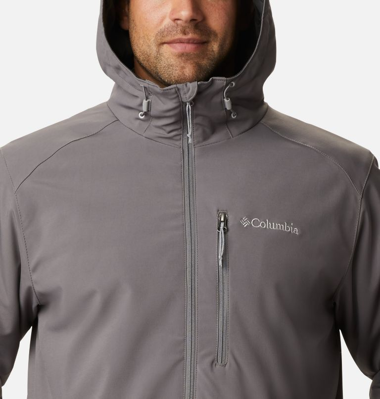 Gate Racer™ Softshell | 023 | XXL Men's Gate Racer™ Insulated Softshell Jacket, City Grey, a2