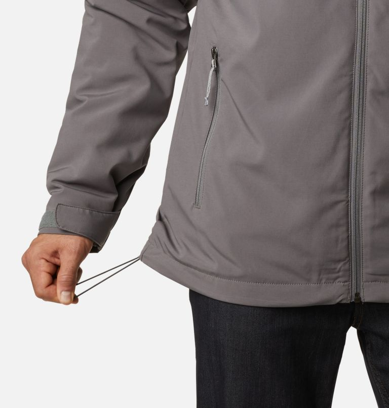 Gate Racer™ Softshell | 023 | M Men's Gate Racer™ Insulated Softshell Jacket, City Grey, a4