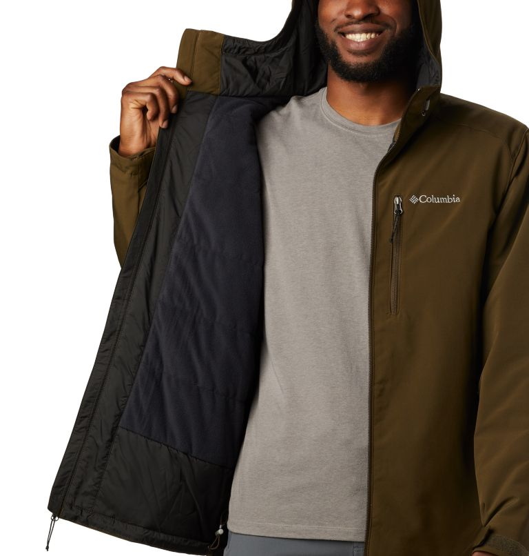 Men's Gate Racer™ Insulated Softshell Jacket Men's Gate Racer™ Insulated Softshell Jacket, a2