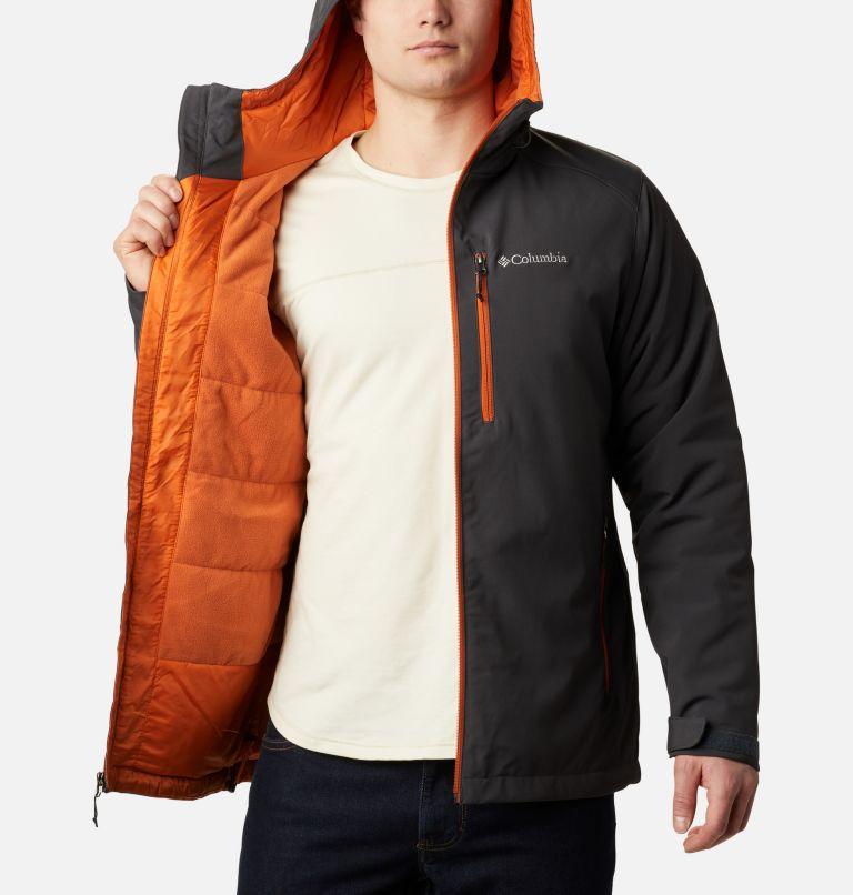 Men's Gate Racer Softshell Hooded Jacket - Big Men's Gate Racer Softshell Hooded Jacket - Big, a3