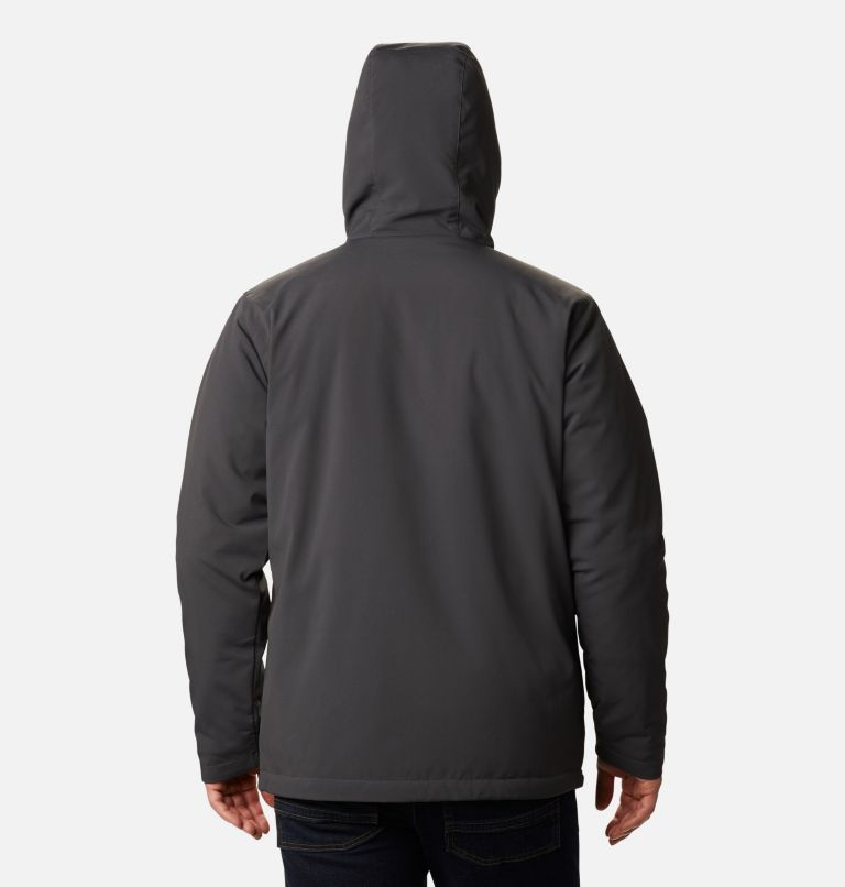 Men's Gate Racer Softshell Hooded Jacket - Tall Men's Gate Racer Softshell Hooded Jacket - Tall, back
