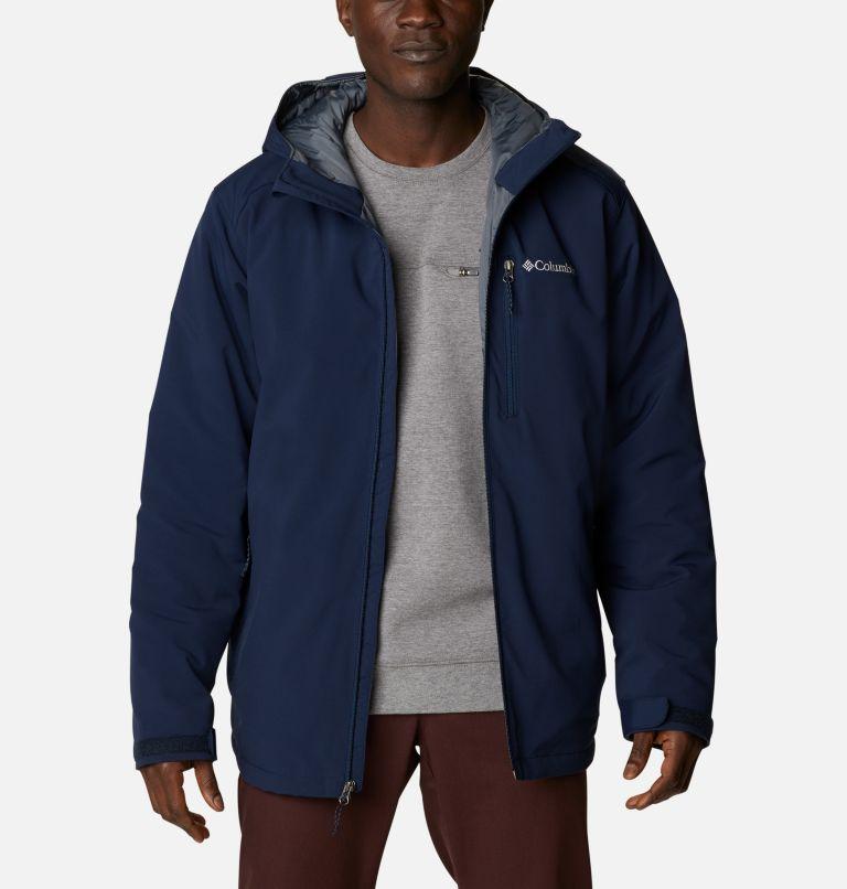 Men's Gate Racer Softshell Hooded Jacket - Tall Men's Gate Racer Softshell Hooded Jacket - Tall, front