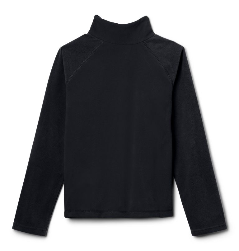 Glacial™ Half Zip | 010 | L Boys' Glacial™ Fleece 1/4 Zip Pullover, Black, back