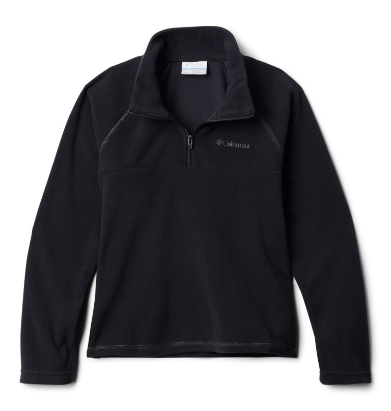 Glacial™ Half Zip | 010 | L Boys' Glacial™ Fleece 1/4 Zip Pullover, Black, front