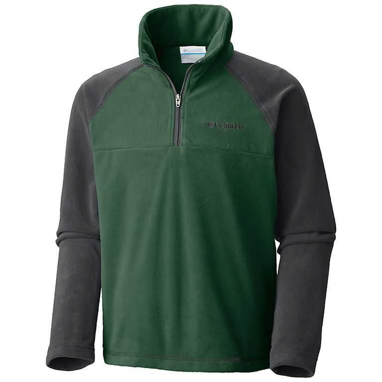 Columbia Youth Glacial Fleece Half Zip Classic Fit Soft Fleece