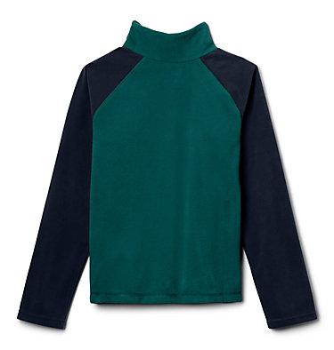Veste à demi-fermeture éclair en laine polaire Glacial™ pour garçon Glacial™ Half Zip | 010 | XXS, Pine Green, Collegiate Navy, back