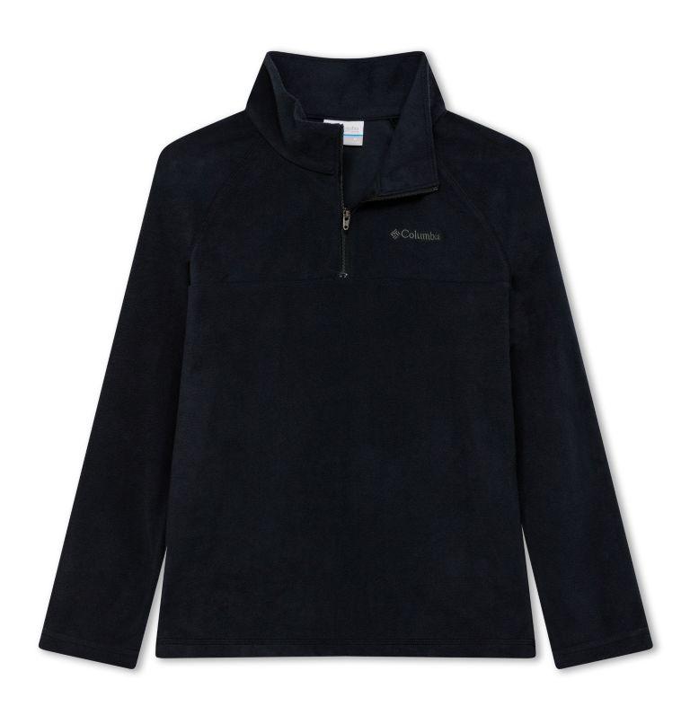 Glacial™ Half Zip   010   S Pile Glacial™ con mezza zip da Ragazzo, Black, front