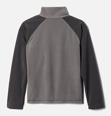 Pull en polaire à demi-zip Glacial™ Garçon Glacial™ Half Zip | 023 | XS, City Grey, Shark, back