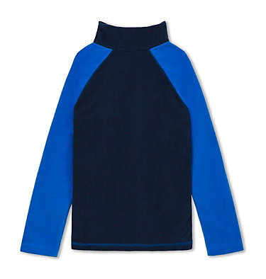 Boys' Glacial™ Fleece Half Zip Jacket Glacial™ Half Zip | 467 | XS, Collegiate Navy, Super Blue, back