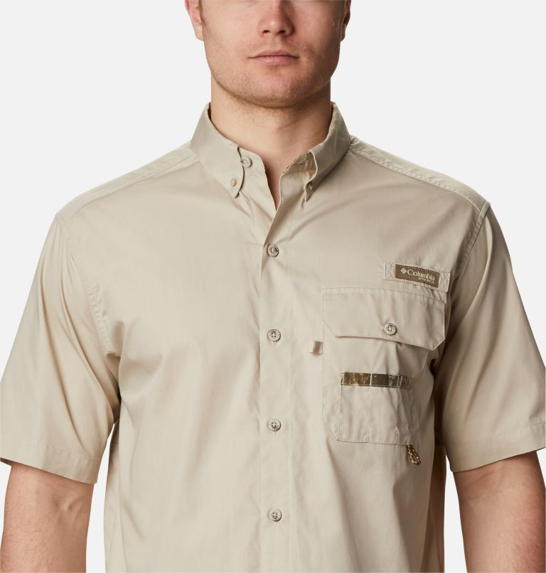 Sharptail™ Short Sleeve Shirt | 162 | XXL Men's PHG Sharptail™ Short Sleeve Shirt, Fossil, RT Edge, a2
