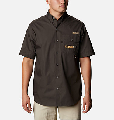Men's PHG Sharptail™ Short Sleeve Shirt Sharptail™ Short Sleeve Shirt | 466 | L, Buffalo, RT Edge, front