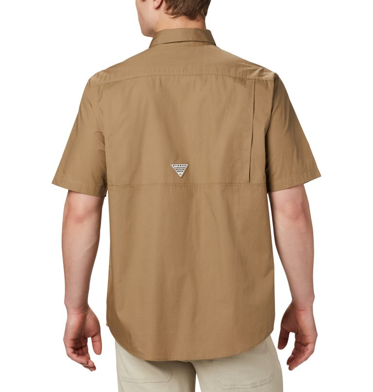 Sharptail™ Short Sleeve Shirt | 251 | XXL Men's PHG Sharptail™ Short Sleeve Shirt, Flax, RT Edge, back