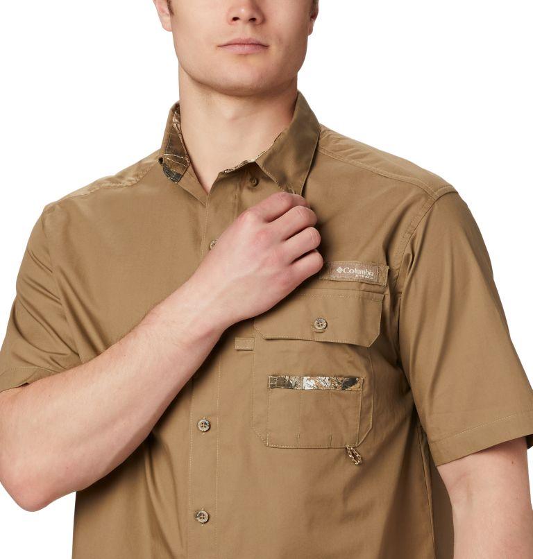 Sharptail™ Short Sleeve Shirt | 251 | 5X Men's PHG Sharptail™ Short Sleeve Shirt - Big, Flax, RT Edge, a3