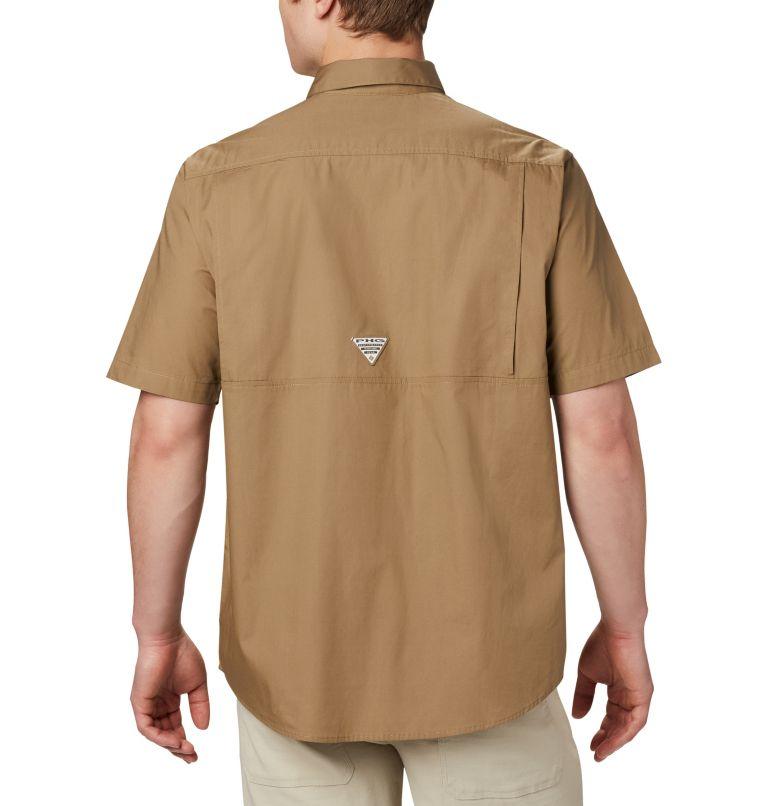 Sharptail™ Short Sleeve Shirt | 251 | 5X Men's PHG Sharptail™ Short Sleeve Shirt - Big, Flax, RT Edge, back