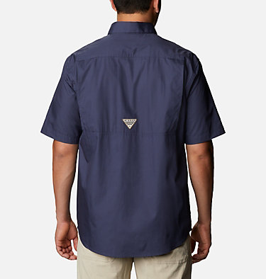 Men's PHG Sharptail™ Short Sleeve Shirt - Big Sharptail™ Short Sleeve Shirt | 466 | 4X, Nocturnal, RT Edge, back