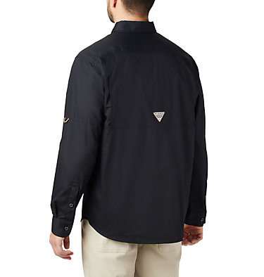 Men's PHG Sharptail™ Long Sleeve Shirt Sharptail™ Long Sleeve Shirt | 011 | L, Black, RT Edge, back