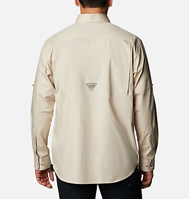 Men's PHG Sharptail™ Long Sleeve Shirt - Big Sharptail™ Long Sleeve Shirt | 466 | 3X, Fossil, RT Edge, back