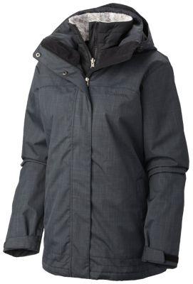 Women S Sleet To Street Warm Waterproof Interchange Jacket