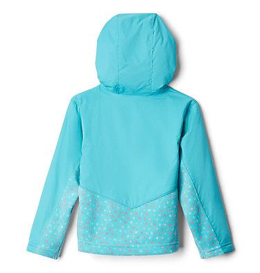 Kids' Toddler Steens Mountain™ Overlay Hooded Jacket Steens Mt™ Overlay Hoodie | 337 | 2T, Geyser, Geyser Sparklers, back