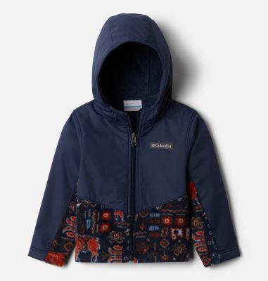 Kids' Toddler Steens Mountain™ Overlay Hooded Jacket   Columbia Sportswear