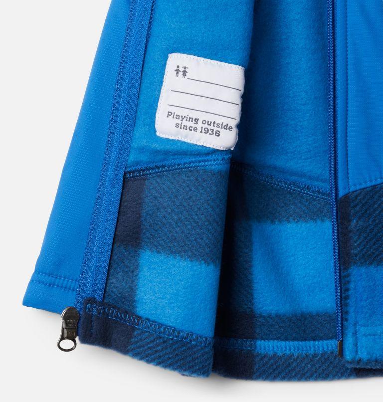 Steens Mt™ Overlay Hoodie | 433 | 6/12 Kids' Infant Steens Mountain™ Overlay Hooded Jacket, Bright Indigo Check(B) Print, Brt Indigo, a1