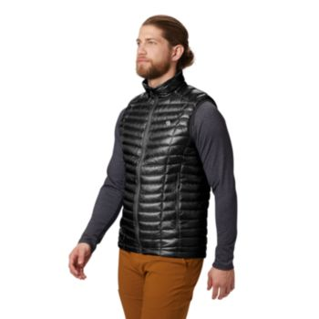 Mountain Hardwear Men's Ghost Whisperer Down Vest (Black or Blue)