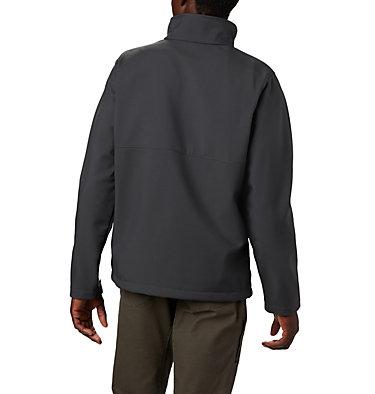Men's Collegiate Ascender™ Softshell Jacket - Georgia CLG Ascender™ Softshell Jacket | 089 | L, UGA - Shark, back